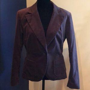 NY&C Brown Velvet Blazer